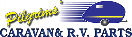 Pilgrims Caravan and RV Parts Company Logo