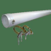 Annex pole carrier 2mtr x 150mm
