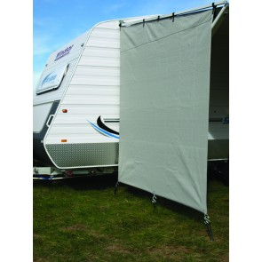privacy screen end panel t s roll out awning on pop top grey
