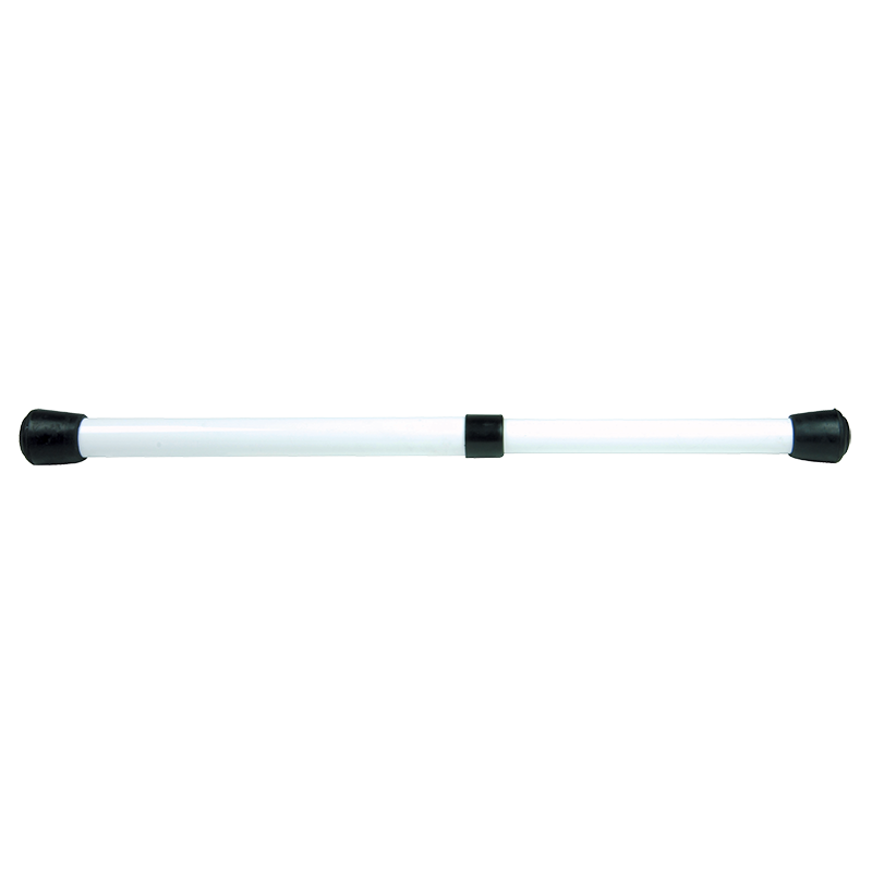 Awning support pole twist lock white