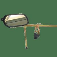 Mirror Cross Bonnet (set)