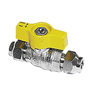 "Gas Ball Valve - 5/16"""" SAE"