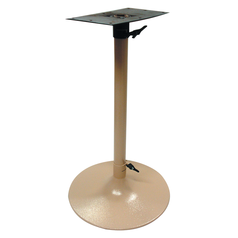 Table Leg Wineglass - Cream
