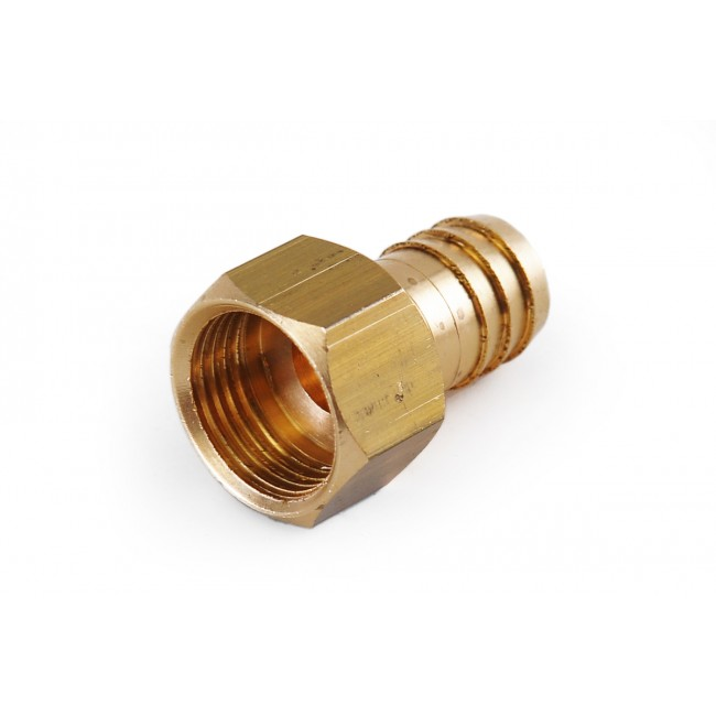 Tap - Mains brass union 3/8""