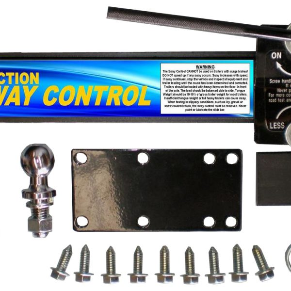 friction sway control instructions