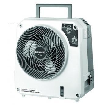 Fan-Tastic Evap cooler AC/DC recharge