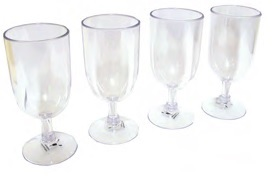 Polycarb Wineglass
