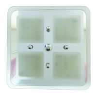 LED Square 4 c/w touch