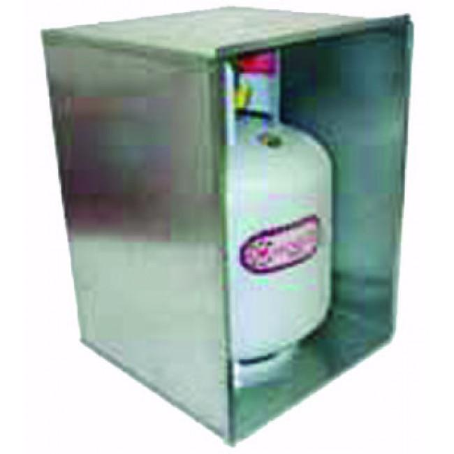 Camec Gas Box Galv for 9 KG Cyl