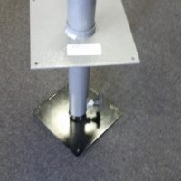 Telescopic Table Leg with adjustable base