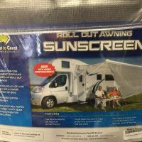 Coast Roll out awning sunscreen