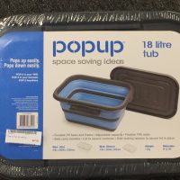 Pop Up Tub 18L with lid