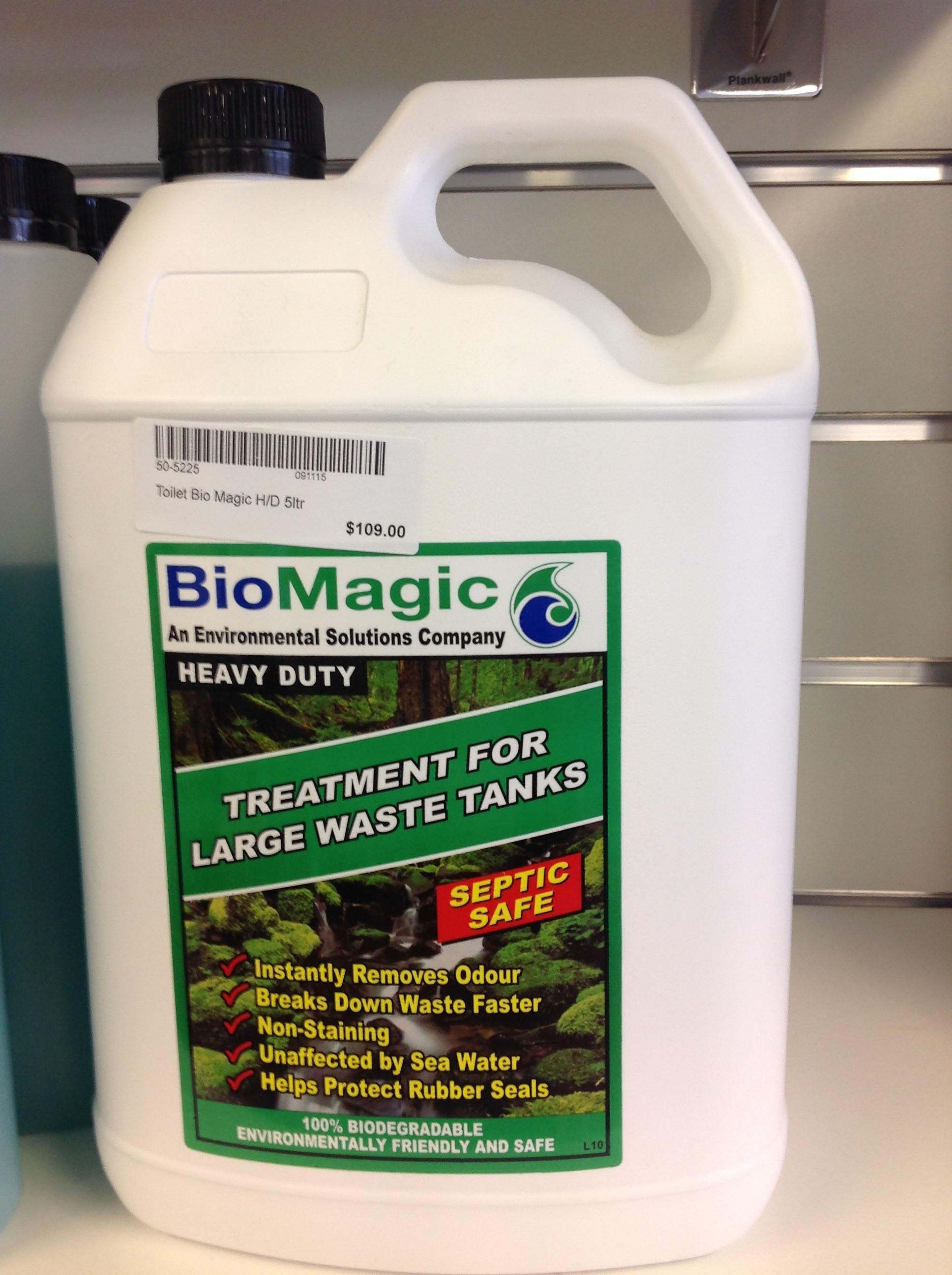 Bio Magic Toilet Waste Treatment