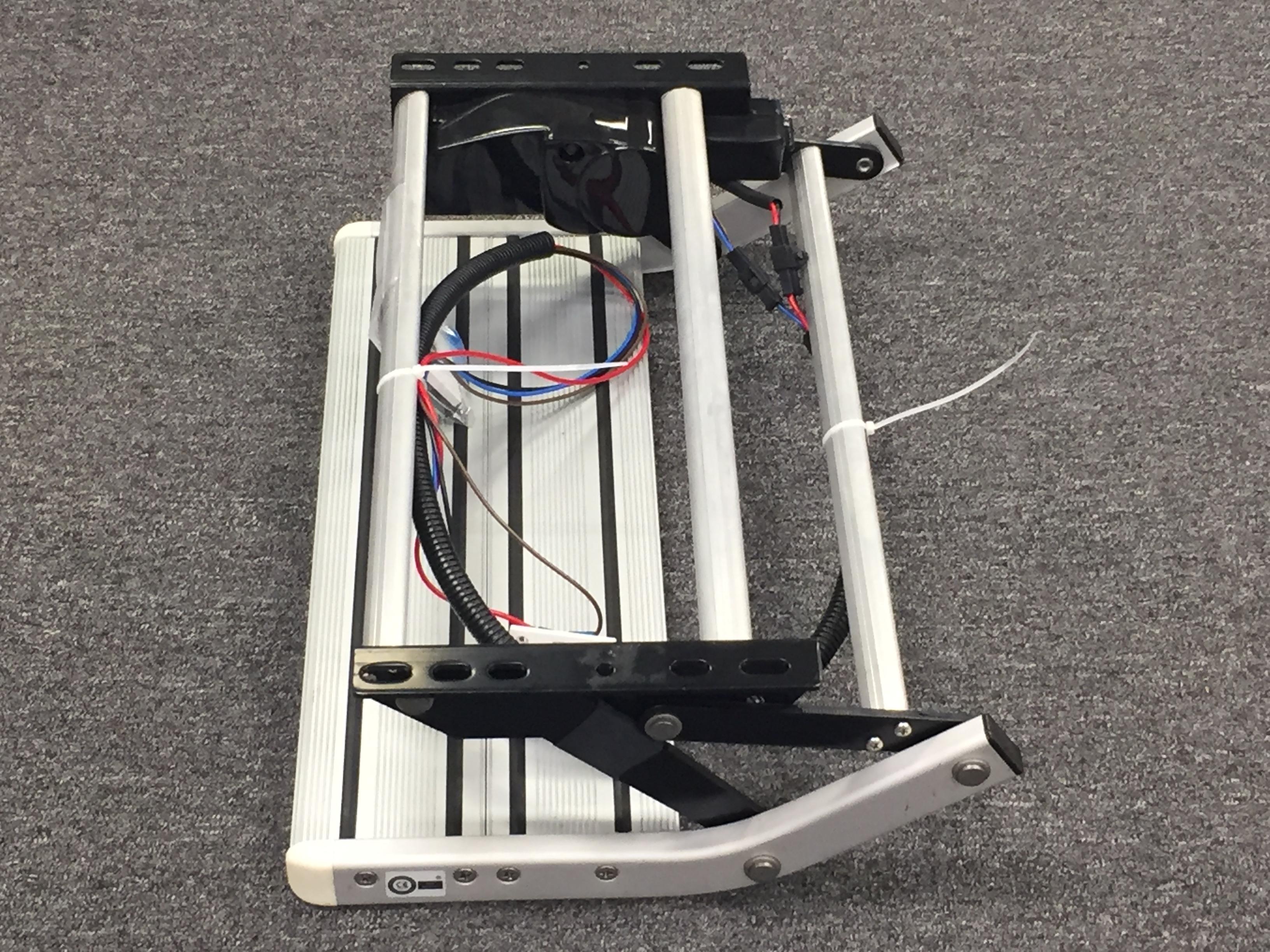 Single Aluminium Step Electric