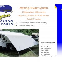 Awning Privacy screen