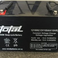 100 Amp AGM Deep Cycle Battery