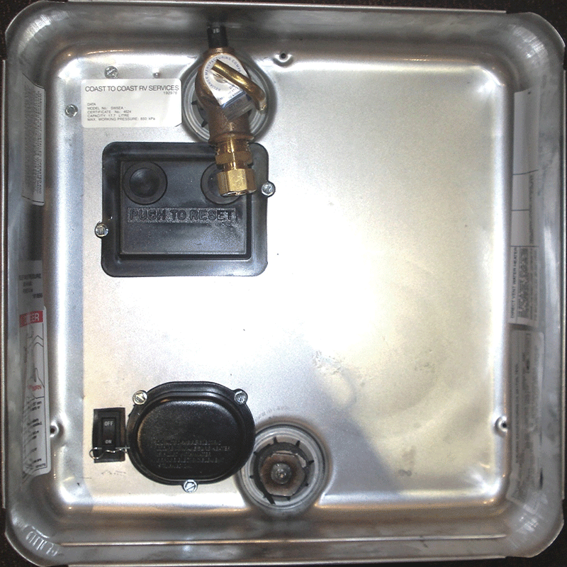 Suburban SW5EA 240v only Hot Water system