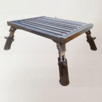 Step Metal with adjustable legs 300kg rated