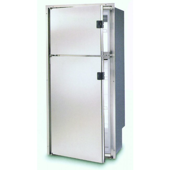 Vitro Frigo 220ltr Dp2600ix 12v  240v 2 Door Fridge  Freezer
